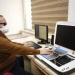 Görme engelli öğrenciler için  elektronik kütüphane projesi