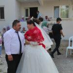 Görme engelli çift tüm engelleri aşarak evlendi